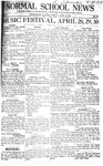 Daily Eastern News: March 12, 1921 by Eastern Illinois University