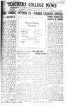 Daily Eastern News: October 25, 1921