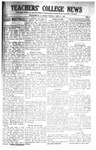 Daily Eastern News: September 27, 1921 by Eastern Illinois University