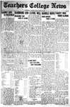 Daily Eastern News: March 16, 1925 by Eastern Illinois University