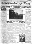 Daily Eastern News: November 01, 1926 by Eastern Illinois University