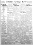 Daily Eastern News: May 13, 1929 by Eastern Illinois University