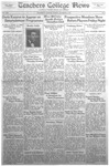 Daily Eastern News: November 03, 1931 by Eastern Illinois University