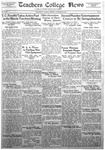 Daily Eastern News: November 22, 1932 by Eastern Illinois University