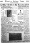 Daily Eastern News: October 28, 1932 by Eastern Illinois University