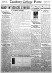 Daily Eastern News: March 13, 1934 by Eastern Illinois University