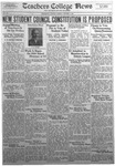 Daily Eastern News: October 09, 1934 by Eastern Illinois University