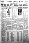Daily Eastern News: October 26, 1934 by Eastern Illinois University