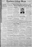 Daily Eastern News: October 08, 1935 by Eastern Illinois University