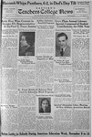 Daily Eastern News: November 10, 1936 by Eastern Illinois University