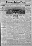 Daily Eastern News: January 12, 1937 by Eastern Illinois University