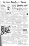 Daily Eastern News: November 08, 1939 by Eastern Illinois University