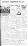 Daily Eastern News: February 07, 1940 by Eastern Illinois University