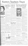 Daily Eastern News: January 31, 1940 by Eastern Illinois University