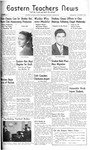 Daily Eastern News: October 09, 1940 by Eastern Illinois University