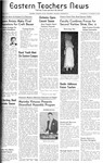 Daily Eastern News: November 19, 1941 by Eastern Illinois University