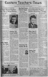 Daily Eastern News: October 01, 1941 by Eastern Illinois University