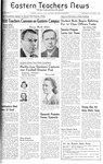 Daily Eastern News: October 08, 1941 by Eastern Illinois University
