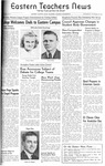 Daily Eastern News: October 29, 1941 by Eastern Illinois University