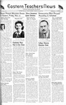 Daily Eastern News: November 03, 1943 by Eastern Illinois University
