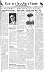 Daily Eastern News: January 26, 1944 by Eastern Illinois University