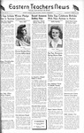 Daily Eastern News: March 22, 1944 by Eastern Illinois University