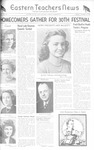 Daily Eastern News: October 13, 1944 by Eastern Illinois University