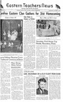 Daily Eastern News: October 31, 1945 by Eastern Illinois University