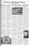 Daily Eastern News: October 09, 1946 by Eastern Illinois University