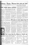Daily Eastern News: May 07, 1952 by Eastern Illinois University