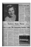 Daily Eastern News: October 14, 1953 by Eastern Illinois University