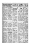 Daily Eastern News: October 21, 1953 by Eastern Illinois University