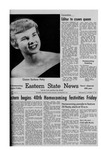 Daily Eastern News: October 27, 1954 by Eastern Illinois University