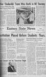 Daily Eastern News: March 13, 1957 by Eastern Illinois University