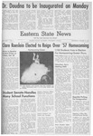 Daily Eastern News: October 16, 1957