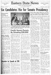 Daily Eastern News: April 23, 1958 by Eastern Illinois University