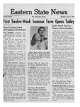 Daily Eastern News: June 09, 1958 by Eastern Illinois University