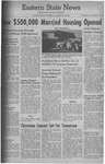 Daily Eastern News: December 16, 1959 by Eastern Illinois University