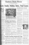 Daily Eastern News: December 14, 1960 by Eastern Illinois University