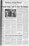 Daily Eastern News: May 18, 1960