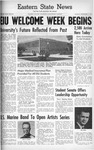 Daily Eastern News: September 03, 1962 by Eastern Illinois University