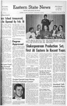 Daily Eastern News: January 16, 1963 by Eastern Illinois University