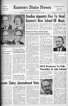 Daily Eastern News: January 23, 1963 by Eastern Illinois University
