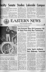 Daily Eastern News: August 04, 1965 by Eastern Illinois University