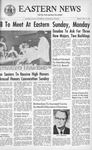 Daily Eastern News: May 14, 1965 by Eastern Illinois University