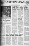 Daily Eastern News: July 20, 1966 by Eastern Illinois University
