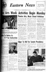 Daily Eastern News: January 18, 1967 by Eastern Illinois University