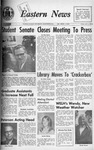 Daily Eastern News: October 08, 1968 by Eastern Illinois University