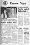 Daily Eastern News: April 17, 1970 by Eastern Illinois University