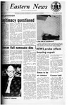 Daily Eastern News: January 14, 1972 by Eastern Illinois University